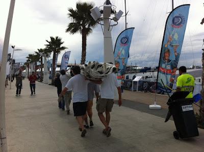 Volvo+Limpiar Impressions Village Volvo Ocean Race Alicante 2011