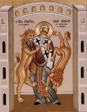 ST. IGNATIUS OF ANTIOCH , Father of the Church