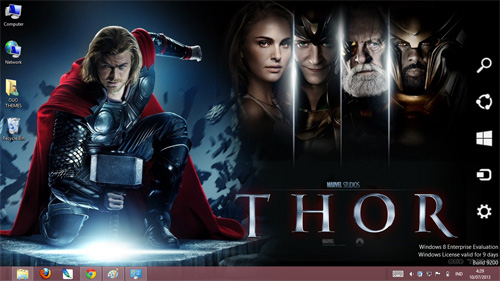 Thor 2 The Dark World Theme For Windows 7 And 8