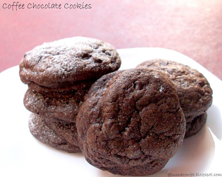 Cakes And More!: Chocolate Coffee Cookies - SRC Time Again!