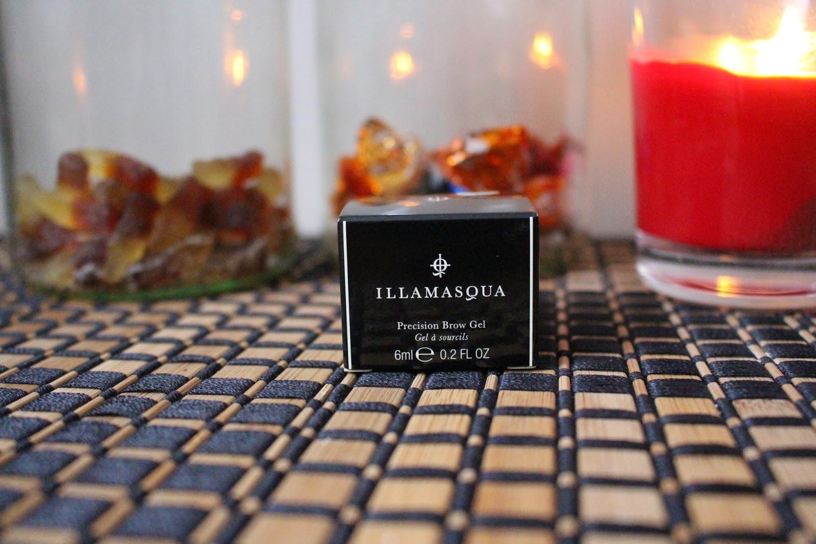 Illamasqua precision brow gel review