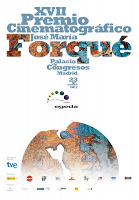 Cartel de los Premios José María Forqué