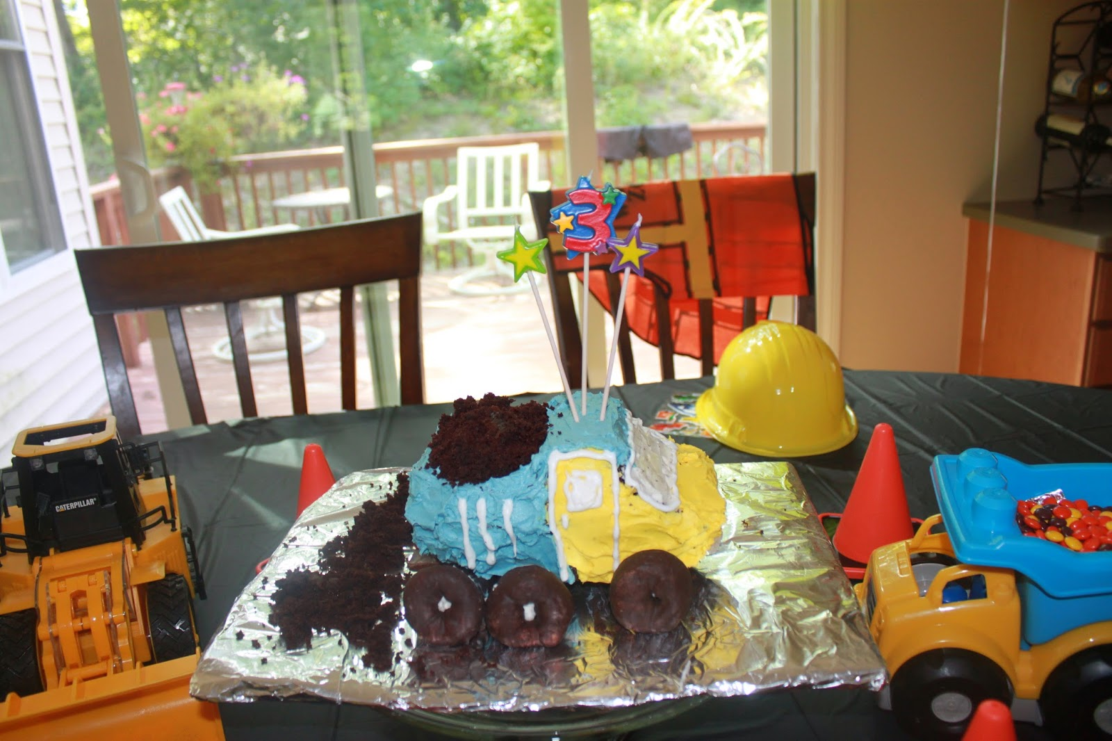 Mrs Party Planner Construction Birthday Party