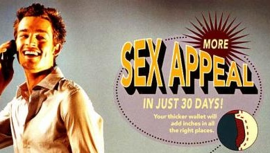 What is the meaning of sex appeal