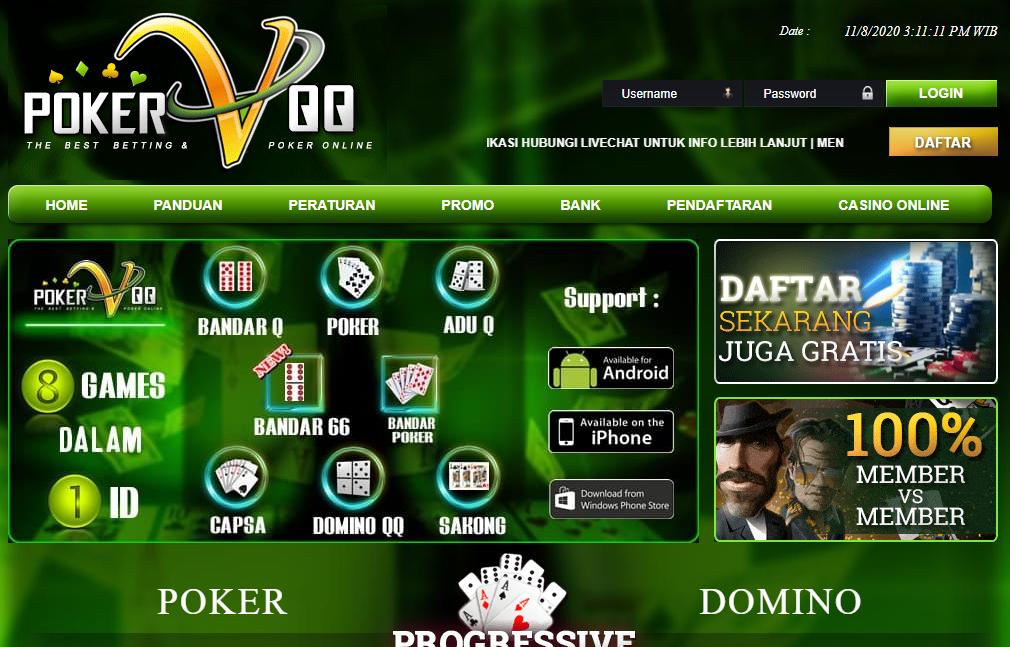 Link Alternatif PokervQQ