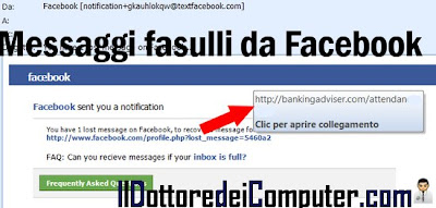 mail virus facebook