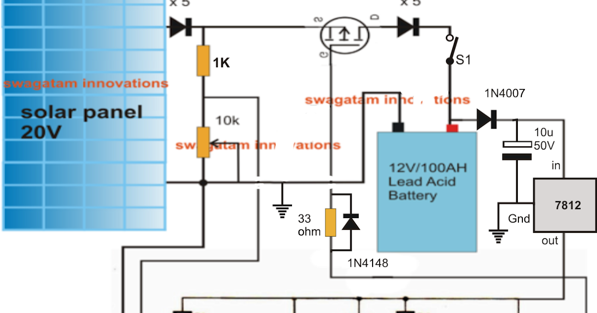 Simple Solar Mppt Circuit Using Ic555