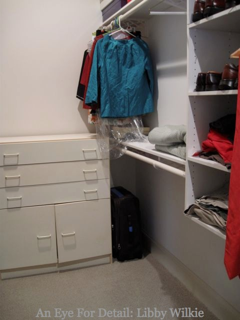 That White Drawer Unit You See Had Been In My Office For Many Years And Has  Been Doubling As Linen Closet, Scarf Repository And Gym Clothes Hamper.