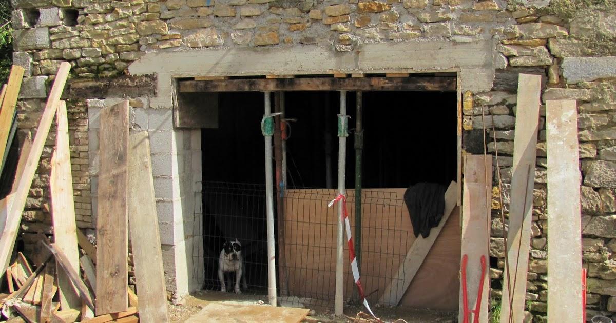 Ma onnerie r novation d 39 une ferme ouverture d 39 une porte - Ouverture d une porte ...