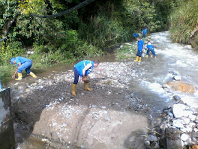 Desvío en cauce de río causó falla en suministro de agua en El Vigía