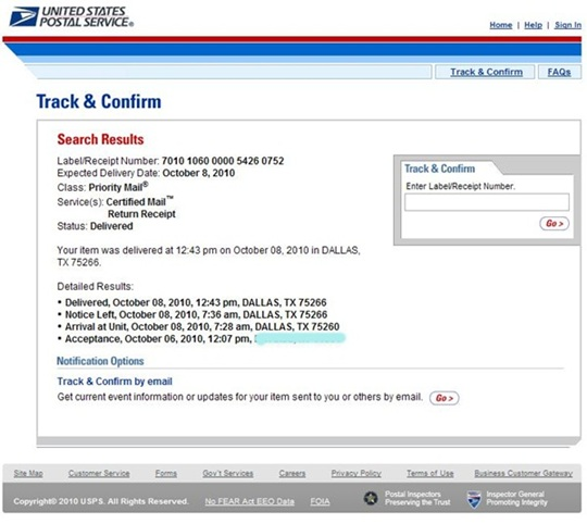 My K1 Fiancee Visa Experience Mailing And Tracking The I 129f