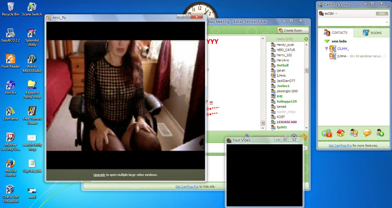 cara memperbesar layar video camprog free