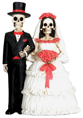Halloween Shopaholic Halloween Wedding Cake Toppers