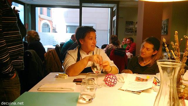Mai Martí - cuinera a La Giberga Restaurant
