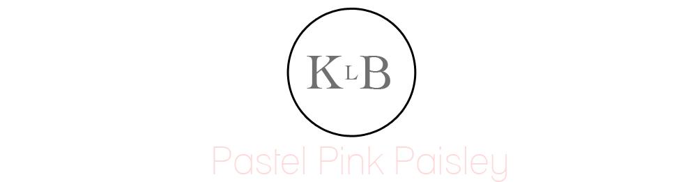 Pastel Pink Paisley