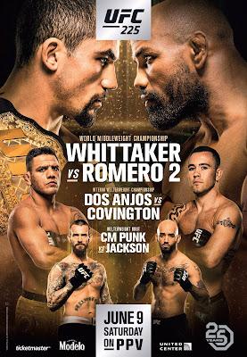 UFC 225 Whittaker Vs. Romero 2 Custom HD Dual Latino