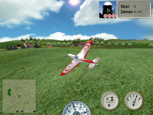 3D Terörist Kampı Baskını Oyunu