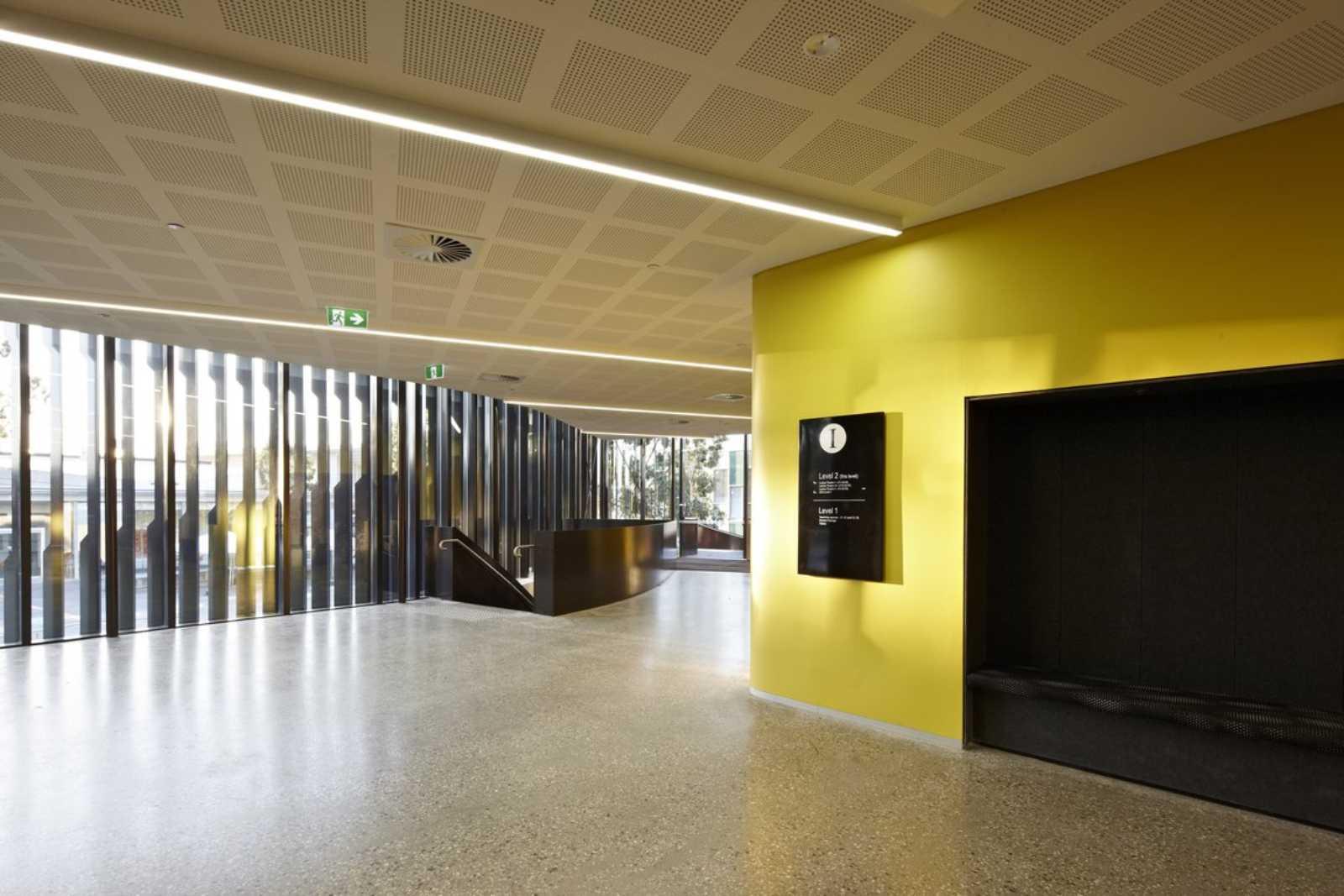Apartment Foyer University : Deakin university building i by woods bagot a as