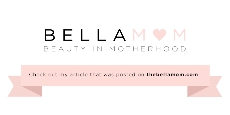 Read me on Bellamom