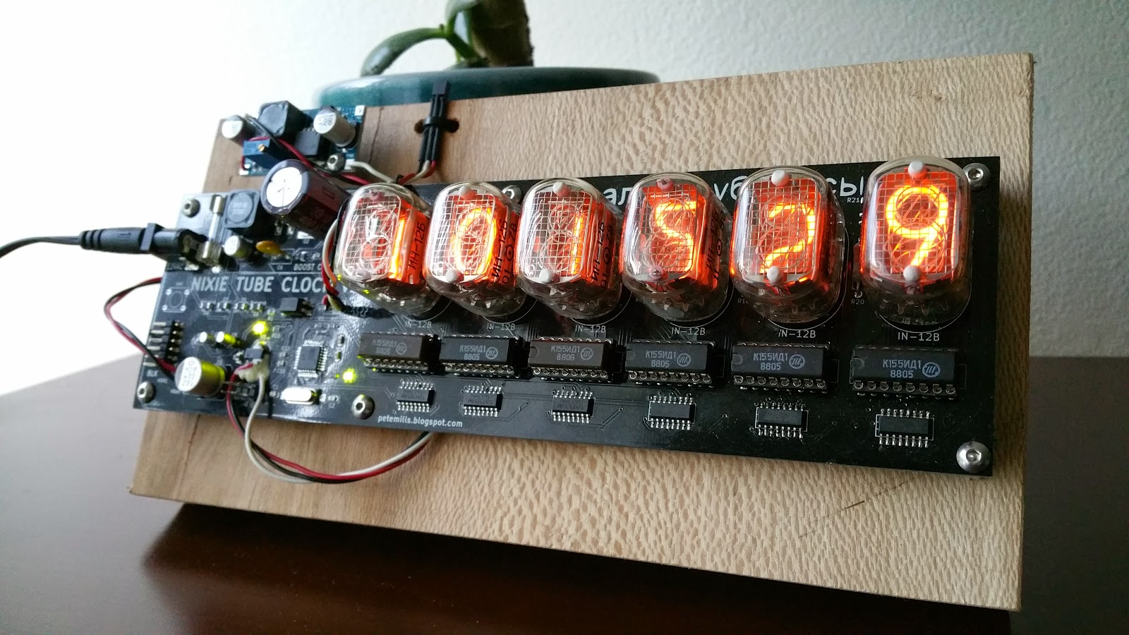 Nixie Tube Clock Schematic Of My 6 Digit Here Are Some Photos Many Fuses Gave Indication To A Problem The Solution Is Disconnect Pin From Pwm Timer In Software And Then Set Output Low