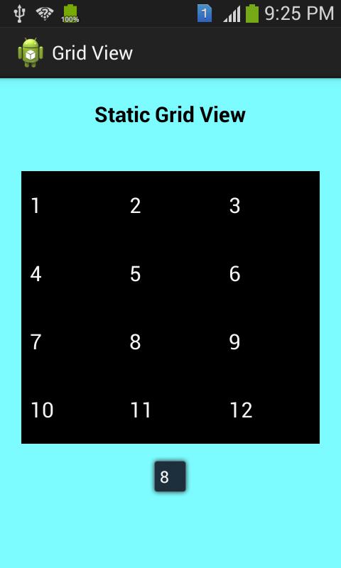 GridView  App