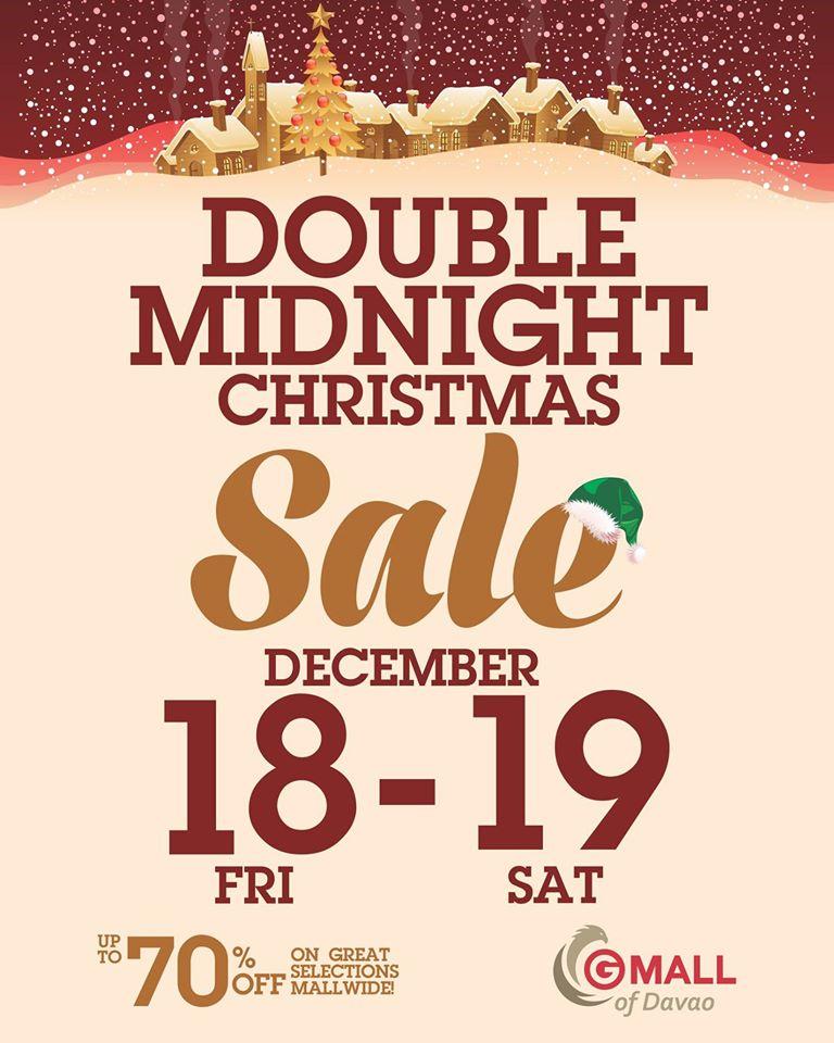 D I G G Davao Gaisano Mall Of Davao Double Midnight