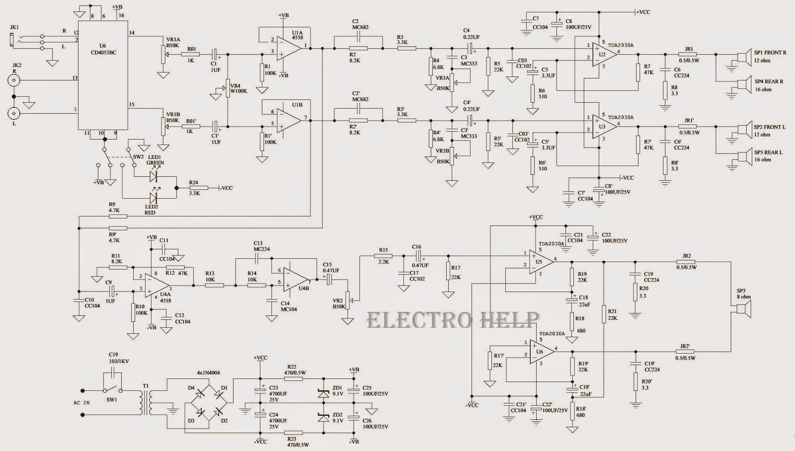 MC3500 altec lansing vs2521 micorlab x25d x27d h500d 600d microlab altec wiring diagram at edmiracle.co