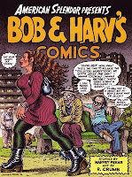 Robert Crumb obsessing while Harvey hits him up
