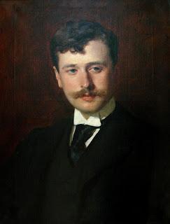 Portrait de Georges Feydeau, par Carolus-Duran