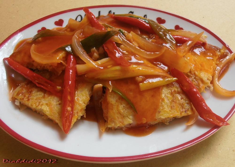 diah didi s kitchen omelet sayur asam manis