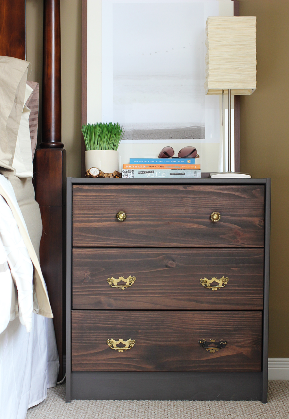 My. Daily. Randomness.: Ikea Rast Nightstand Hack