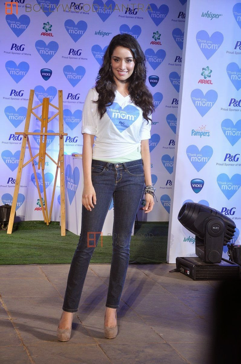 Shraddha Kapoor at Thank You Mom Mothers Day Celebration 2013