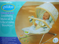 Baby Bouncer PK6992 Soothing Musical and Vibration