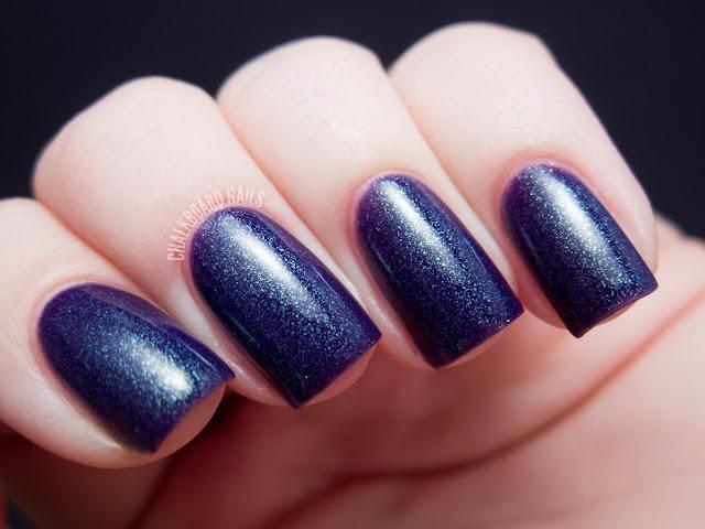 Chalkboard Nails: Depend 313