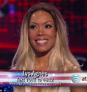 Lys Agnes of America's Got Talent