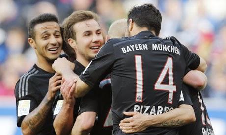 Bayern Munich close in Bundesliga title with win over Hoffenheim