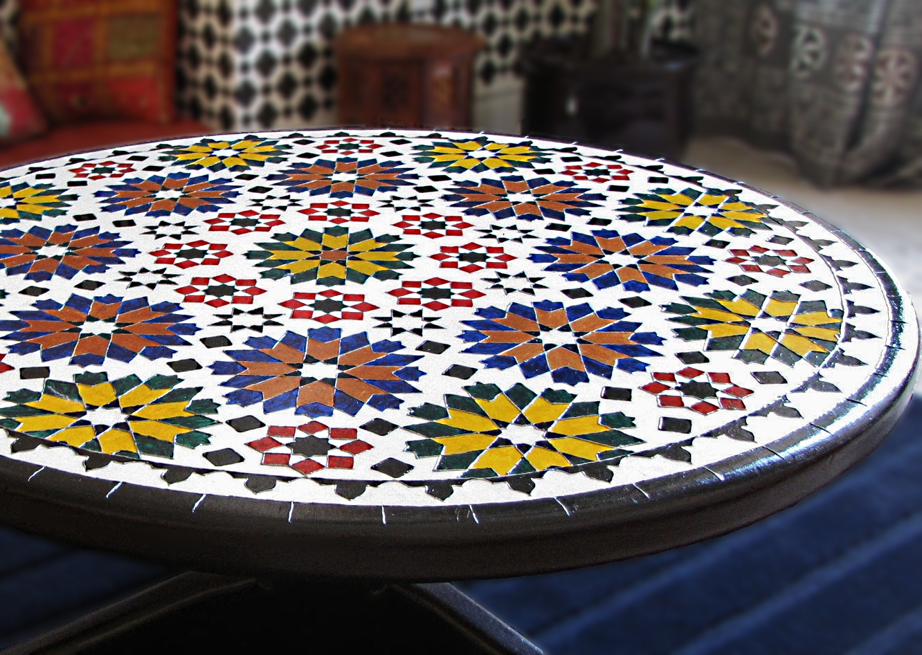 azzure guest post diy moroccan inspired table