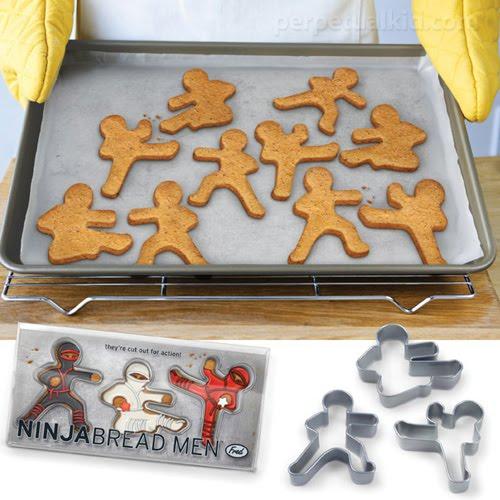 Ninja Bread Men -  Cookie Cutters