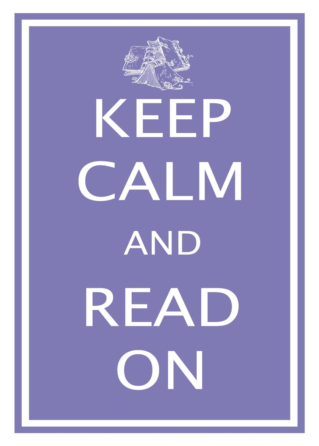 keep calm and read manga