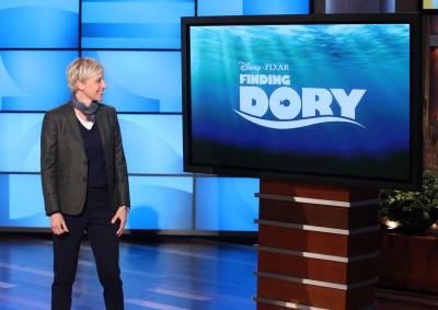 Finding Dory Ellen DeGeneres Show