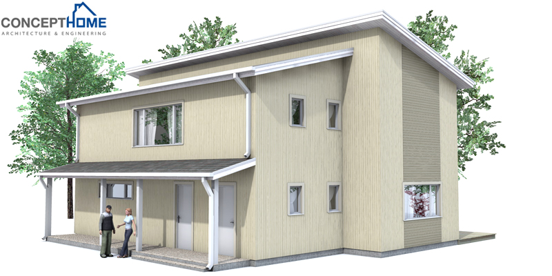 Affordable Home Plans Economical Home Ch33
