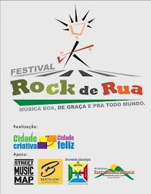 Neste mês de janeiro, Santa Rita do Sapucaí será palco do Festival Rock de Rua.