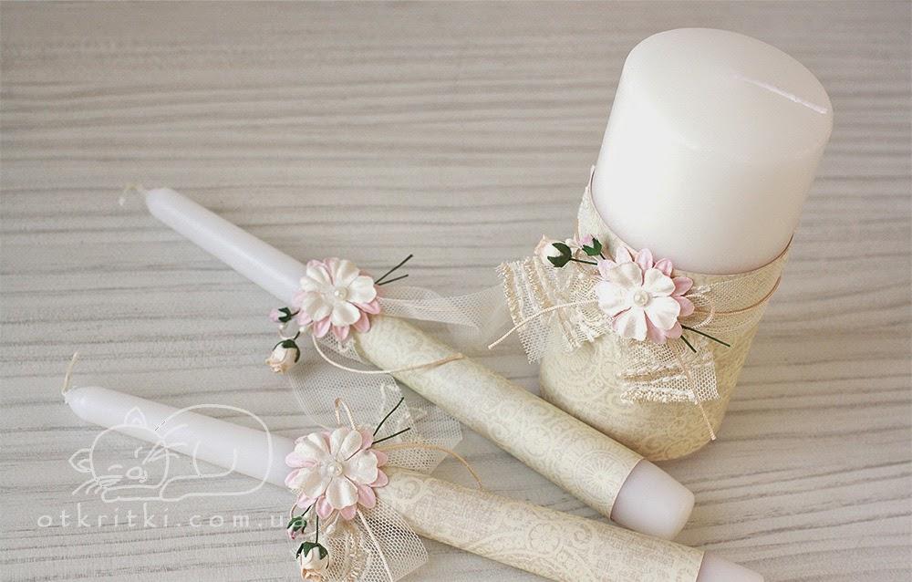 купить свадебные свечи, свечи на свадьбу, свечи семейный очаг, свечи для молодых, киев, заказать свадебные свечи
