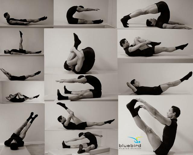 Algunos ejercicios de Pilates