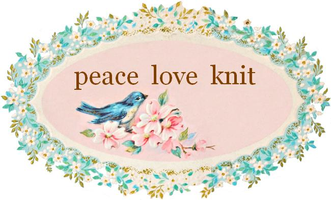 Peace Love Knit