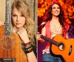 Taylor Swift e Paula Fernandes