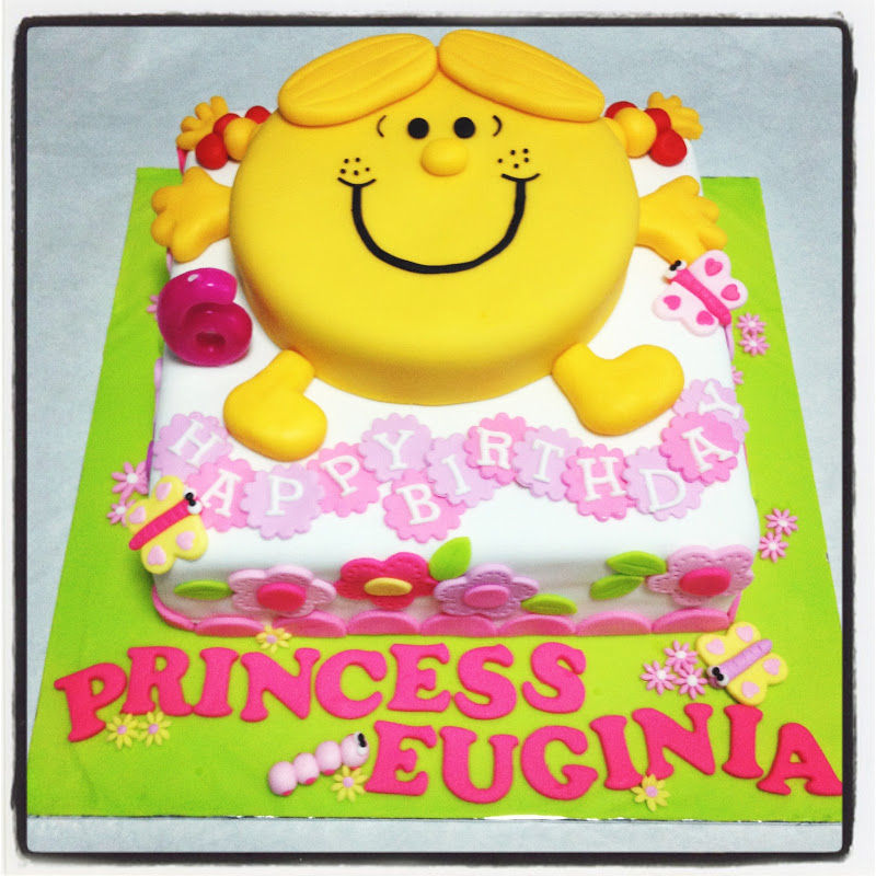 Pineapple Sunshine Cake: Oven Creations: Happy 6th Birthday Princess Euginia