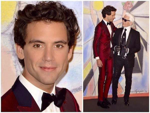 Mika's Christian Louboutin Sneakers - Rose Ball 2014 In Aid Of The Princess Grace Foundation In Monaco