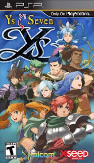 Download Games  Ys Seven psp iso For PC Full Version Free Kuya028