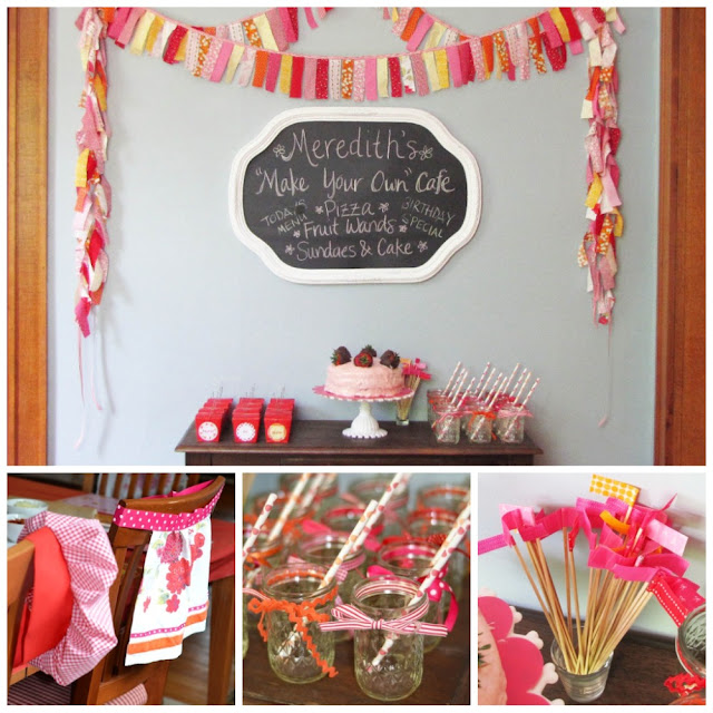Kitchy Kitchen Decor: MargotMadison: A Kitchy-Kitchen Birthday Party
